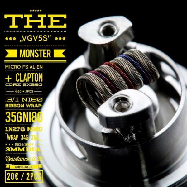 Tasty Ohm - V5S Monster