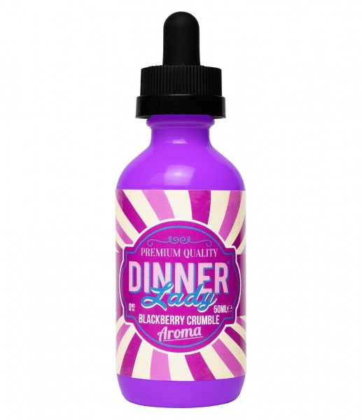 Dinner Lady - Blackberry Crumble 50ml - Shake & Vape
