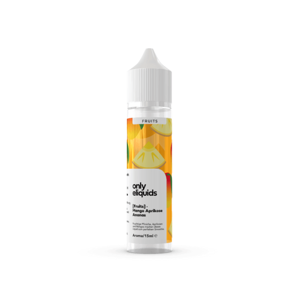 Only Fruits - Mango Ananas 15ml Aroma