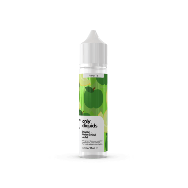 Only Fruits - Melone Apfel Kiwi 15ml Aroma