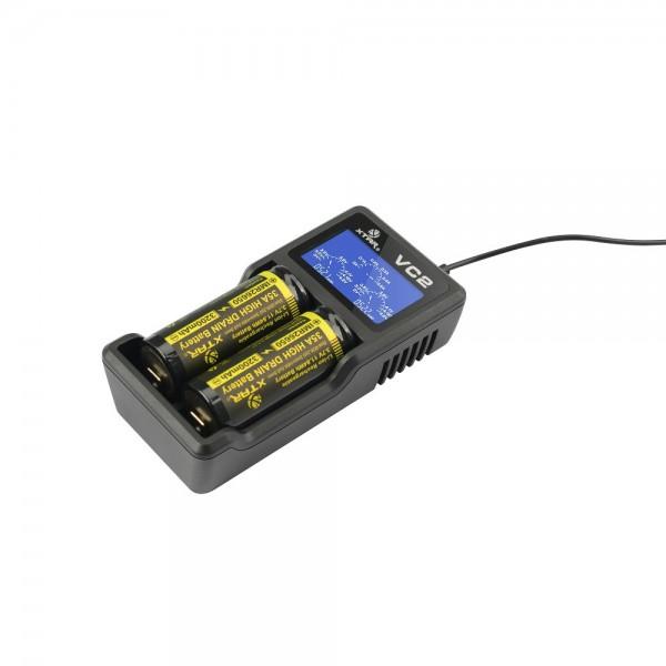 XTAR VC2S Ladegerät für Li-Ion Akkus