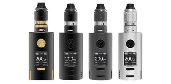 Vapefly Kriemhild 200W 5,0ml E-Zigaretten Set