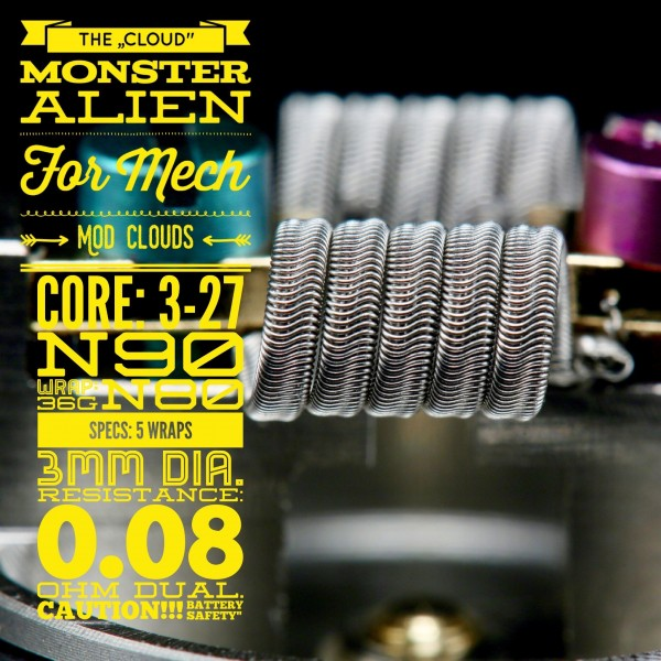 "Tasty Ohm Cloud ""Monster Alien"""