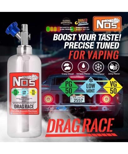 NOS Drag Race E-Liquid 50ml Overdosed - by Naked Nation