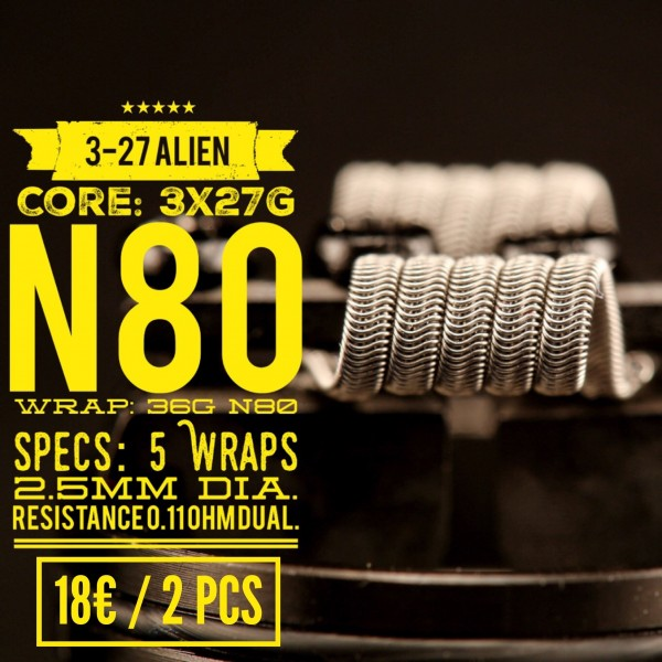 Tasty Ohm 3-27 Alien